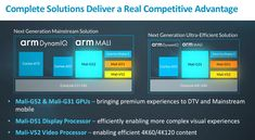 ARM Unveils Mali-G52 and Mali-G31 GPUs Amongst Others  ARM today unveiled two new GPUs a visual processor (VPU) and a display processor. The new GPUs  the Mali G52 and Mali-G31 bring an improvement in performance and a reduction in power consumption to flagship and low-end/mid-range devices respectively.  Mali-G52  The Mali-G52 succeeds the G51 which was announced back in 2016. Performance has increased by 30% as a result of the use of wider execution engines (8 pipelines as against the G51s…