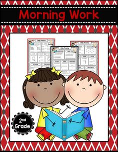 Common Core Math and Language Arts Daily Practice for Second Grade (August) 2nd Grade Math Worksheets, Grammar Worksheets, Common Core Math, Common Core Standards, Second Grade Math, First Grade, English Language Arts, Morning Work, Classroom Resources