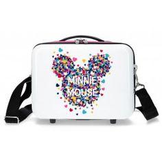e3116adbf Neceser infantil Minnie Magic Corazones Maletas Disney, Maleta De Viaje,  Baratas, Envio Gratis