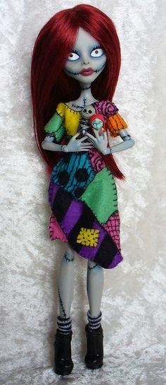 Custom Monster High - Sally from NBX | Flickr - Photo Sharing!