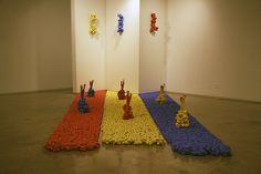 Patsy Cox: Urban Rebutia at Chico State University Gallery (partial)