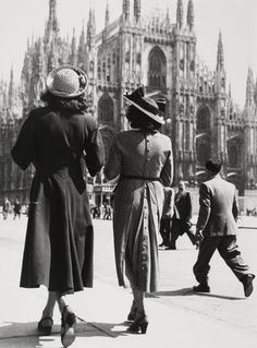 """Milan Cathedral, 1947  """