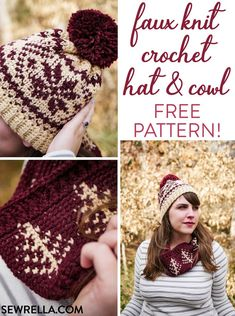 Exceptional Stitches Make a Crochet Hat Ideas. Extraordinary Stitches Make a Crochet Hat Ideas. Bonnet Crochet, Crochet Beanie Pattern, Crochet Motifs, Free Crochet, Crochet Patterns, Crochet Scarves, Crochet Clothes, Crochet Hooks, Crochet Christmas Hats