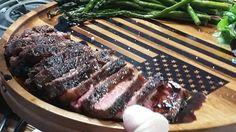Sliced steak after rested www.code3spices.com