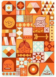 Patterns Faces | Flickr - Photo Sharing!