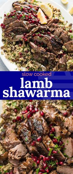 Slow Cooked Lamb Shawarma – – – You are in the right place about pork Meat Recipes Here we offer you the most beautiful pictures about the Meat Recipes beef you are looking for. When you examine the Slow Cooked Lamb Shawarma – – – … Marinated Lamb, Grilled Lamb Chops, Grilled Meat, Kebab Recipes, Indian Food Recipes, Turkish Recipes, Lebanese Recipes, Roast Rack Of Lamb, Shawarma Spices