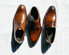 Brown shoes are essential to every wardrobe.