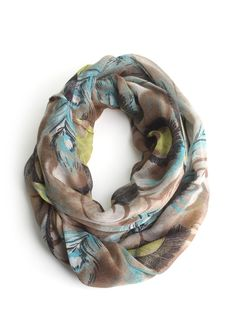 Love this - Brightly Feathered Scarf and only $13!