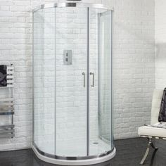 Aquadart Venturi 6 U Shaped Quadrant Shower Enclosure 915 x 1040mm