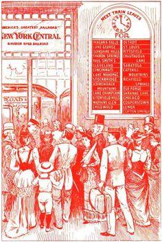 New York Central Railroad, 1892