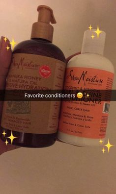 These conditioners are very moisturizing thick, dry, curly hair