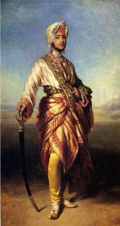 "Franz Xavier Winterhalter ""Maharaja Duleep Singh"""
