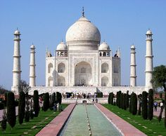 The Taj Mahal...built from Love.