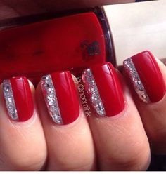 Red hot nails!