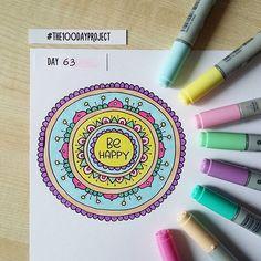 #100daysofdooodles2 #100dayproject #100daysproject #doodle #drawing #art #mandala #behappy #markers #copic #inspiration #instaart #рисунок #маркеры #мандала #творчество #вдохновение