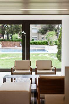 ATENEA PARK SUITES Entrada Hotel - Denys & von Arend. Vilanova i la Geltrú, Barcelona.
