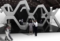UNstudio: modular fabrication for pct at london design week 2011