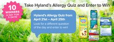 04/24 Hyland's Natural Giveaway 50 winners! http://www.heartofaphilanthropist.com/1/post/2014/04/hylands-natural-giveaway.html
