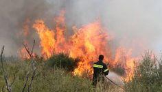 Φωτιά στην Παλιά Ζίχνη Σερρών - http://www.greekradar.gr/fotia-stin-palia-zichni-serron/