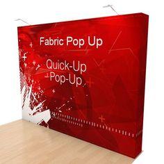 Fabric Pop Up 3x3