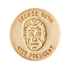 Dick & Jane Educational Snacks;  Presidential Edition;  George Herbert Walker Bush,  41st President,  1989-1993