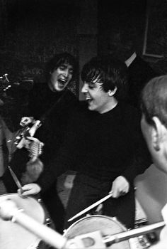 "John Lennon:"" Ha, ha Paul, you are a great musician, but you suck at drums!"""