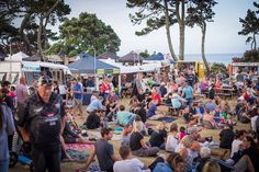 Street food festival in New Zealand with #bubblewaffle  #yellowpoint