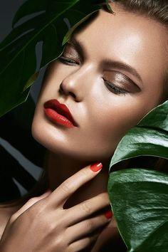 Irina. R for Dior Beauty by Tina Patni makeup