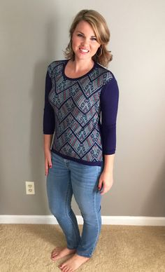 I'm not sure if I love or hate this top, but I'm intrigued enough to try it. [Loveappella Howella Knit Top]