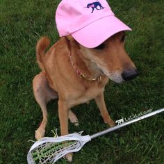 The one and only Savannah is repping our Preppy Pink LuLaLax hat in style! This girls lacrosse hat is sure to be any laxer's favorite accessory! See our other color option (Seafoam Green) at LuLaLax.com!