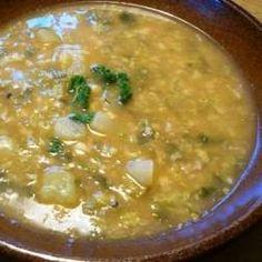 Recept Kapustová polévka s vločkami od Juanita - Recept z kategorie Polévky