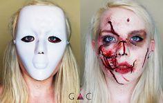 Niektórzy noszą maski, bo chcą.  Niektórzy noszą maski, bo muszą. STOP PRZEMOCY W RODZINIE! W 2015 roku odnotowano ogólną liczbę ofiar przemocy, która wynosi AŻ 97501 osób! Jesteś świadkiem przemocy nad kobietami, mężczyznami, dziećmi, osobami starszymi, nad zwierzętami ?  Nie stój bezczynnie, bo to być może od Ciebie zależy ich los.  Ratuj tych, którzy tego potrzebują. Wyciągnij dłoń jeśli jesteś silniejszy. Pomóż. www.facebook.com/GacMakeUp