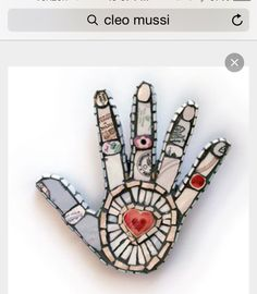 Cleo Mussi - Contemporary Classics at Mellerstain House Gall . Mosaic Crafts, Mosaic Projects, Mosaic Art, Mosaic Glass, Mosaic Tiles, Art Projects, Paper Mosaic, Mosaic Rocks, Stained Glass