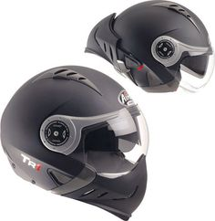 Airoh TR1 Motorcycle Helmet like a fighter pilot status