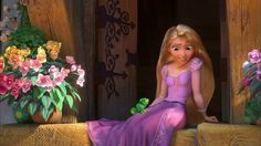 Screencap Gallery for Tangled Bluray, Disney Classics). After receiving the healing powers from a magical flower, the baby Princess Rapunzel is kidnapped from the palace in the middle of the night by Mother