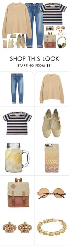 """some things to be proud of ❄"" by annefs1 ❤ liked on Polyvore featuring Frame, The Row, Miu Miu, Casetify, Hermès, Pull&Bear, Juicy Couture and Calvin Klein"