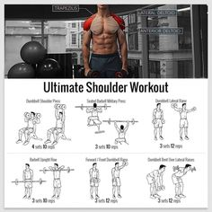 Ultimate Shoulder Workout ! Best Fitness Shoulders Exercise Plan - Yeah We Train !