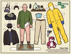 Recortables de Breaking Bad - Walter White