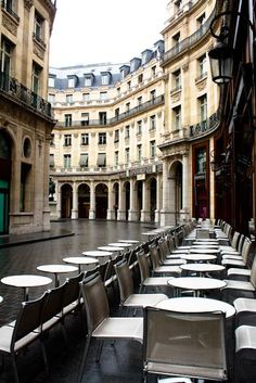 Rainy Morning in a Paris Cafe