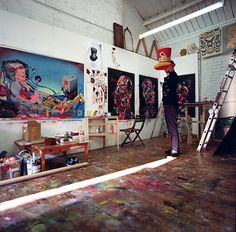 studio visit: Sickboy