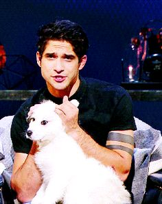 Tyler Posey cute gif Me (to Tyler): Don't look at me like that, you know our love is impossible