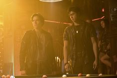 Cole Sprouse and Jordan Connor in Riverdale (2017)