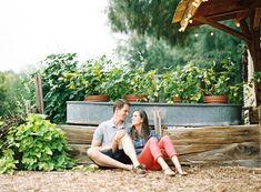 Sam and Amy -- Farm at South Mountain Engagement Shoot - Melissa Jill Photography