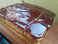 Grízes mézes Tiramisu, Waffles, Pudding, Baking, Breakfast, Ethnic Recipes, Food, Cakes, Morning Coffee