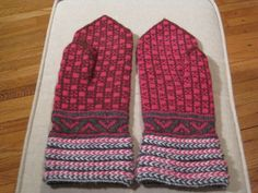 Image detail for -Latvian Mittens