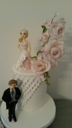 Casamento noivo noiva rosa