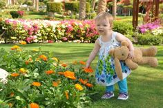 #23 Thanks to Nicola for her lovely entry to our photo competition. Her caption is: 'Our daughter loving the freedom of exploring the flora.' www.nationalchildrensdayuk.com