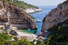 Stiniva Beach, the Island of Vis, Croatia