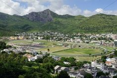Champ de Mars Racecourse, in Port Louis, Mauritius