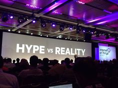 """HP Tackling one of the biggest problems of #IOT """"hype vs reality"""" - who's in it to win it"""" #iotworld16 - Twitter Search"""